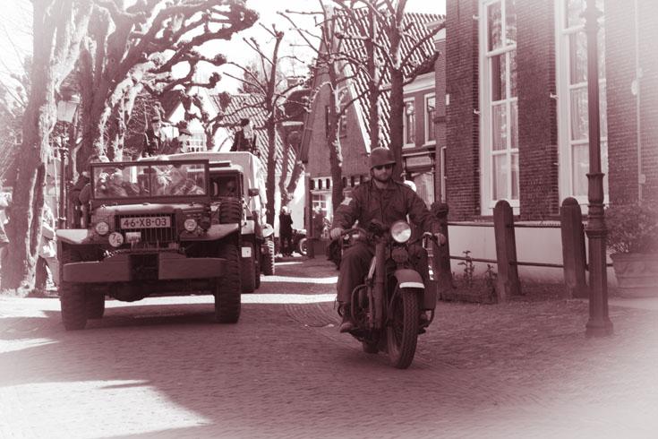 Liberty tour door Voorschoten en Wassenaar!